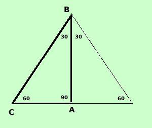 Triangolo Con Angoli 30 60 90